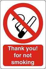 NO SMOKING SIGN Vinyl Decal / Sticker ** 5 Sizes **