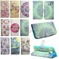 For Samsung Galaxy Smart Phones Magnetic Flip PU Leather Wallet Cover Case Skin