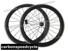 2015 NEW Dimple Finish Carbon Road Bicycle Wheels 60mm Clincher R13 Ceramic Hub