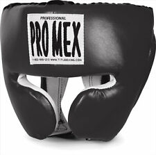 PRO-MEX Training Headgear Boxing Sparring Gear MMA Equipment Supply Black or Red