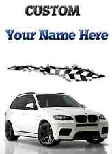 BMW X5 Silver car Birthday,Get Well HAPPY A5 Personalised Greeting Card pid125