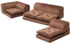 Floor Sofa Japanese Style Low Couch Bed Back Support Chair