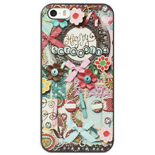 NEW Happy Scrapping Hard Case for Apple iPhone 4 4S 5 5S 5C 6 6+ plus Cover
