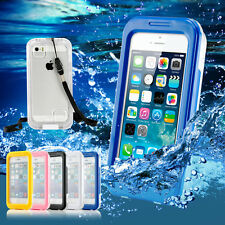 Colors Waterproof Shockproof Dirt Proof Durable Case Cover For iPhone 4 4S 5 5S
