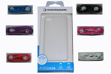 iPhone 4 4S Membrane Ice Protector Cover Case By Marware with Headset