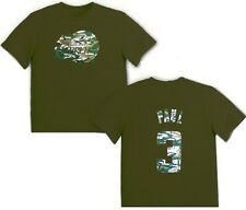 Los Angeles Clippers Chris Paul #3 Majestic Boys Camo T Shirt Olive Youth Sizes