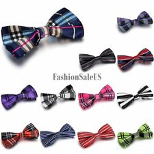 Mens Classic Suit Tuxedo Formal Bowtie Adjustable Neckwear Wedding Party Bow Tie