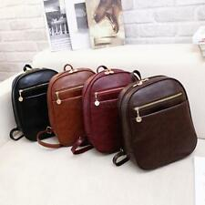 New Cute Kids Womens Korean Pu Leather Handbag Schoolbag Backpack Shoulder Bag