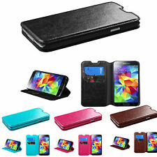 New Cute Leather Wallet Case Cover Folio Flip Pouch for Samsung Galaxy  S5 S4 S3