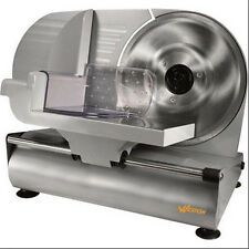 """Heavy Duty Pro Food Slicer 9 """"Deli Meat Cheese Kitchen Cutter Commercial Home"""