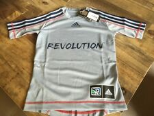 Authentic adidas New England Revolution Soccer Jersey NWT Youth S M L XL