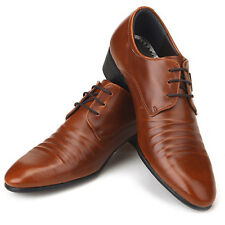 Novamall New Mens Italian Style Dress Casual Shoes Brown