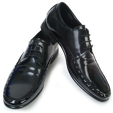New Novamall Mens Leather Motion Dress Lace Up Black Shoes