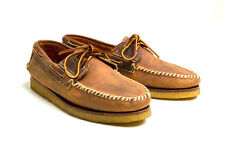 RED WING 9157 COPPER ROUGH & TOUGH HANDSEWN MOCCASIN CREPE BOAT SHOE USA $310+