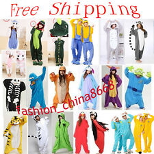 Unisex Adult Animal Onesies Kigurumi Pyjamas Pajama Sleepsuit Costume Sleepwear