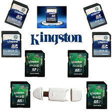 Kingston Class4/10 SD SD/XC 4/8/16/32/64GB Ultra Memory Flash Card Camera GPS ME