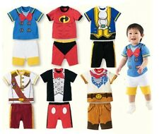 Super Cute Baby Boy 2-pc Infant Toddler Costume Outfit, 6 Characters  NWT