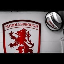 MFC Badge Middlesbrough football club mounted & framed prints