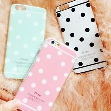 """New Soft TPU Cute Candy Colors Back Case cover For Apple iphone 5/5S/6 4.7""""/plus"""