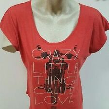New: QUEEN - Crazy Little Thing Called Love (Juniors) Concert T-Shirt [X]