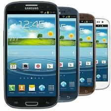 Samsung Galaxy S3 I535 16GB Verizon + Unlock Smartphone White Blue Black Brown