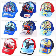 BN Kids Boys Toddlers Spiderman Minion Sports Baseball Cap Hat Costume Accessory