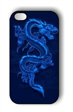 ASIAN BLUE DRAGON 2 CASE FOR iPHONE 4 5 5C 6 - ba3z