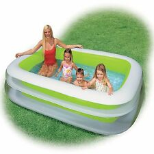 Blow Up Swimming Family Pool Inflatable Backyard Large Splash Swim Ground New