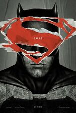 BATMAN VS SUPERMAN - Movie Poster - BATMAN - DS 27x40 - Original