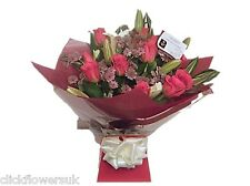 Fresh Flowers Delivered Lily and Rose Selection Florist Choice Mixed Bouquet