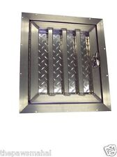 Short Aluminum Dog Box Crate Kennel Door