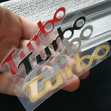 Turbo Car Door Sill Scuff Plate Handle Wiper Decal Badge Sticker Thin Side Trunk