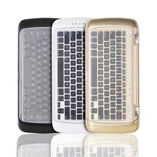 Wireless Bluetooth Keyboard with Mobile Cell Phone Battery Charger & Photo Stick