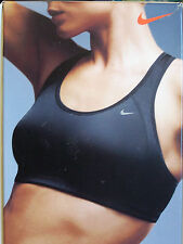 Nike Fit Dry Sports Bra Sizes XS - XL  Black, White & Pink