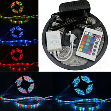 3528 Waterproof RGB 300 Flexible LED Light Strip+24 key controller+power supply