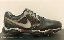 Nike Lunar Control II 2 Golf Shoes Spikes 552073-001 Black Grey Rory Tiger Woods