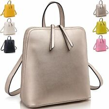 Women Tassels Zipper Split Leather tote Shoulder Trveal Bag backpack Satchel