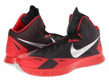Men's Nike Lunar Hyperquickness Basketball Shoes, 652777 006 Sizes 8-13 Blk/Red/