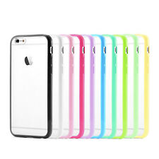 "Funda Silicona TPU Carcasa Transparente Cubierta Para Apple 4.7"" Caja iPhone 6"