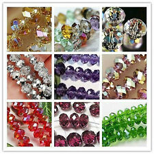 Wholesale New 17 Colors Swarovski Crystal Loose Beads 3MM-12MM free shipping