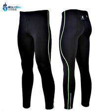 Mens Capri Compression Tights Cycling Gym Clothing Running Pants Skin Sportswear