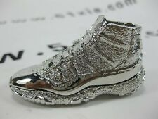 Titanium Air Jordan 11 Sneaker Necklace and Key Chains, Limited Edition