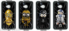 Star Wars Minions Phone Case, HTC One M7, M8, M9 Mini 2, One X, One S, XL, 816