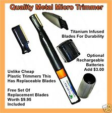 PERSONAL MICRO TRIMMER MINI TOUCH SHAVER  BODY GROOMER, FREE BLADES  WORTH $9.95