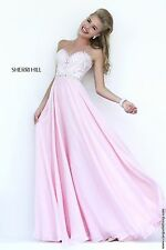 Sherri Hill 1944 Strapless Beaded Gown