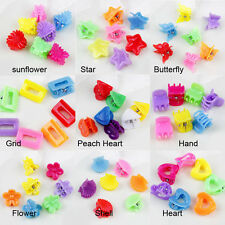 5/10Pcs Various Plastic Cute Kids Mini Hair Claw Clips Clamp Accessories DIY