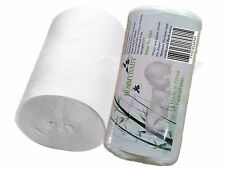 LilBit Flushable Biodegradable Viscose Diaper Liners for Baby Cloth Diapers