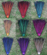 Wholesale 10-100PCS High quality Pheasant tail feathers 35-60cm/12-24inches