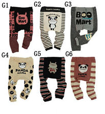 Baby boys girls toddler leggings Warmer Knitting Cotton PP pants Style G