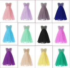 2015 Short Prom Homecoming Gowns Bridesmaid Cocktail Evening Ball Party Dresses